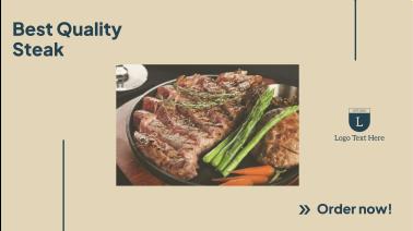 Steak Order Facebook event cover