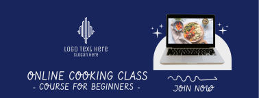Online Cooking Class Facebook cover