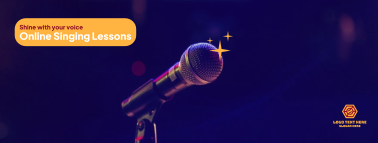 Singing Lessons Facebook cover