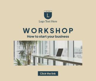 Workshop Business Facebook post