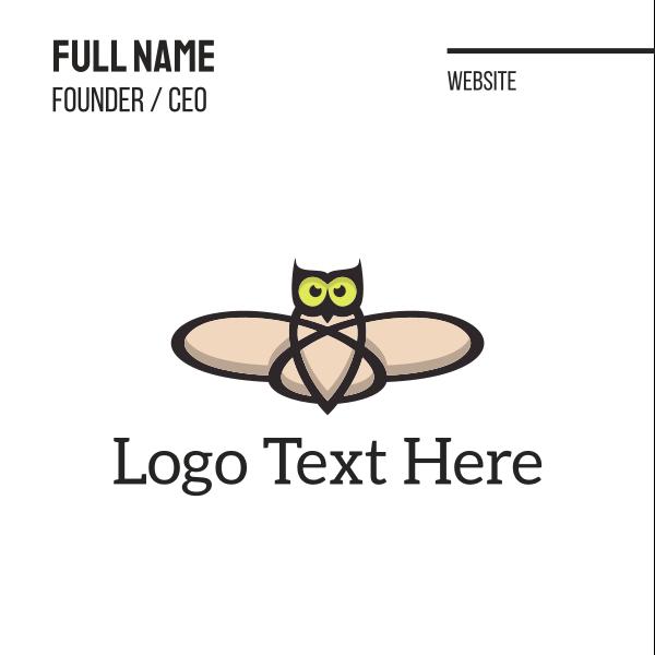 Atomic Owl Business Card