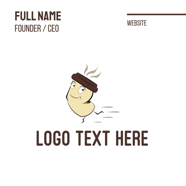 Fast Coffee Business Card