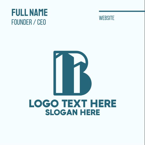 Buildings Letter B Business Card