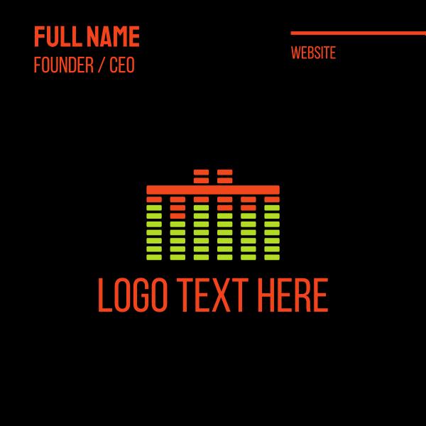 Music Sound Business Card