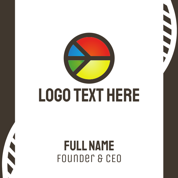 Colorful Peace Business Card