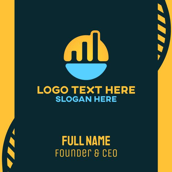 Company Growth Finance Business Card
