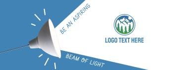 Beam of Light Facebook cover