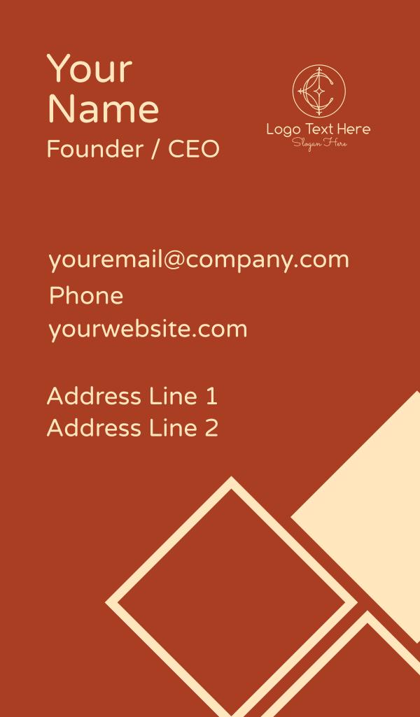 Elegant Letter C Business Card