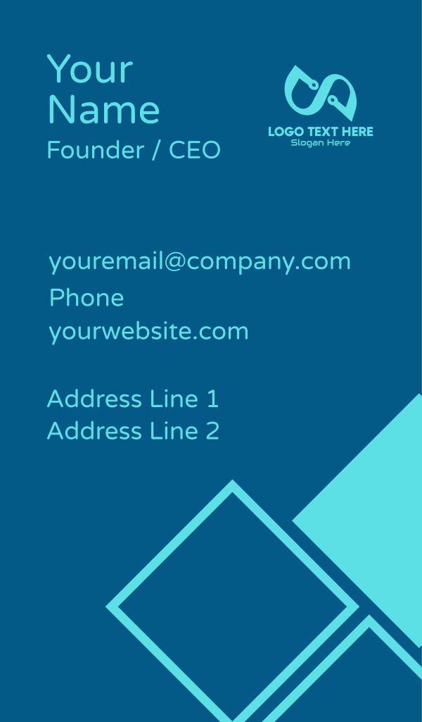 Infinity Technology Business Card