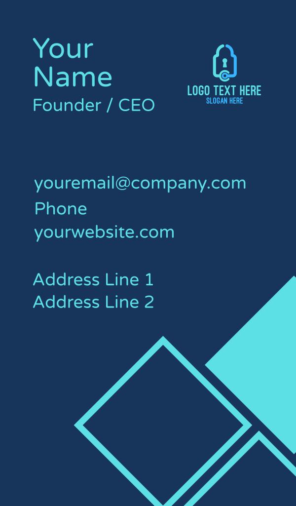 Tech Lock Business Card
