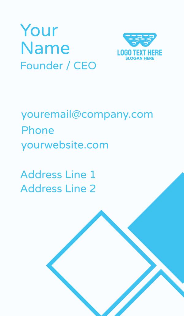 Bubble Wrap Letter W Business Card