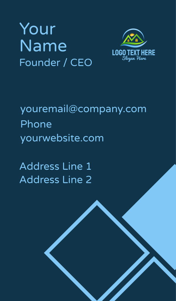 Sunrise Home Realty Business Card