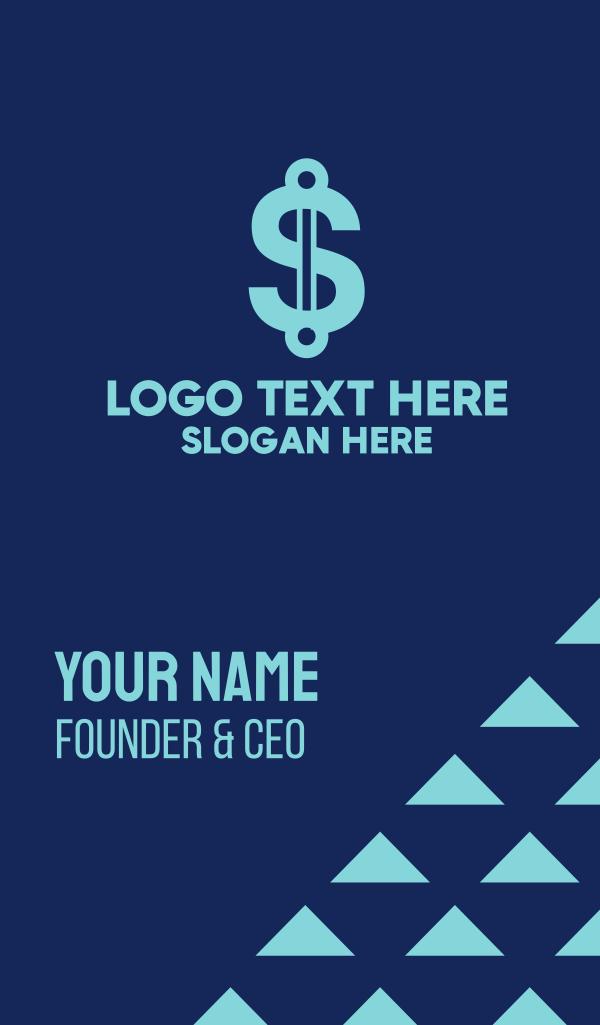 Blue Dollar Technology Business Card