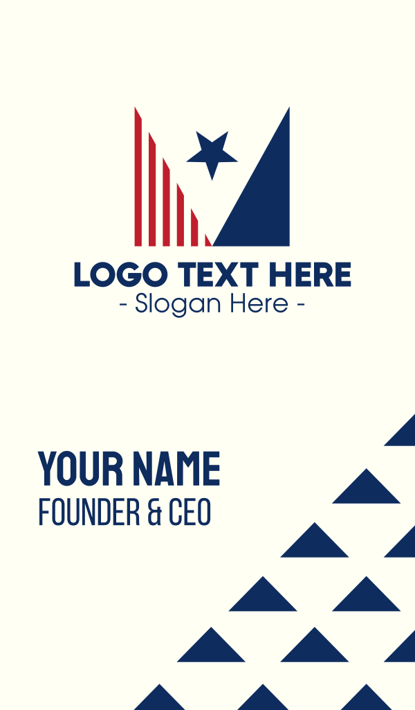 American Star Flag Business Card