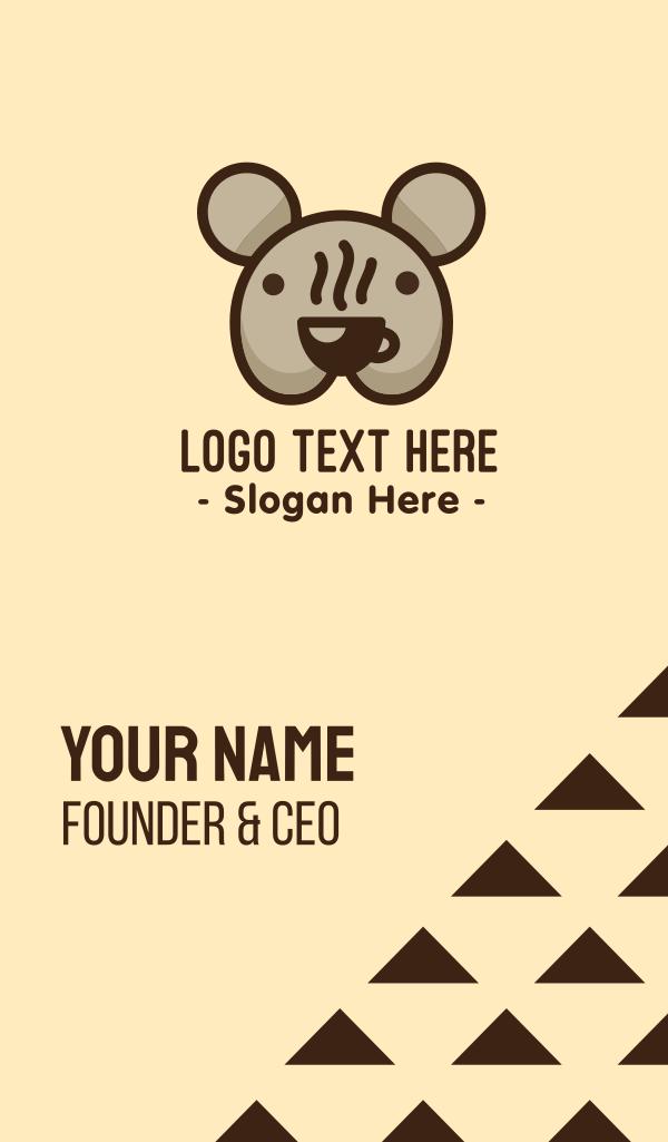 Koala Bear Australian Coffee Business Card
