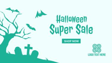 Halloween Super Sale Facebook event cover