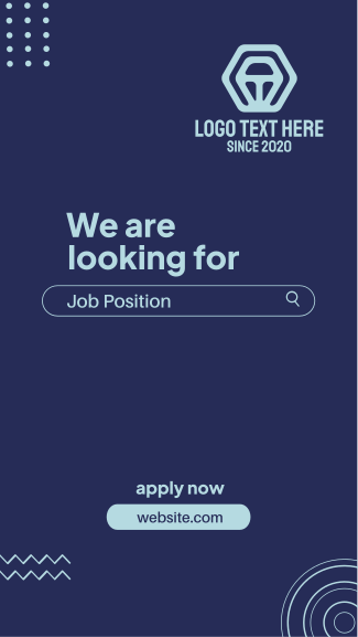 We're Looking  For Facebook story