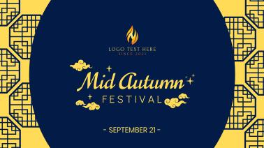 Mid Autumn Festival Facebook event cover