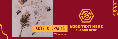 Arts & Crafts Twitter header (cover)