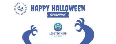 Happy Halloween Giveaway Facebook cover