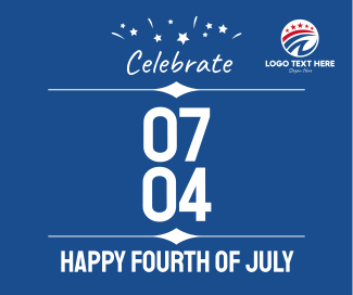 Celebrate Fourth of July Facebook post