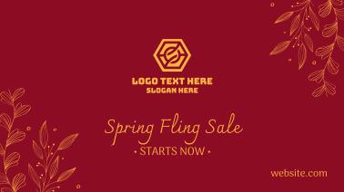 Spring Sale Ornamental Facebook event cover