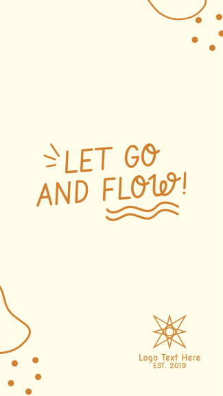 Go and Flow Facebook story