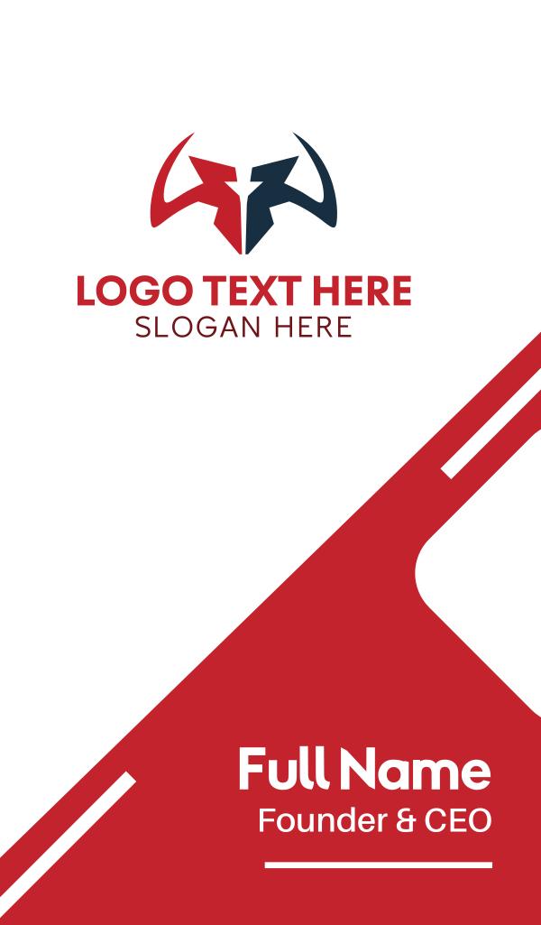 Sharp Horns Business Card