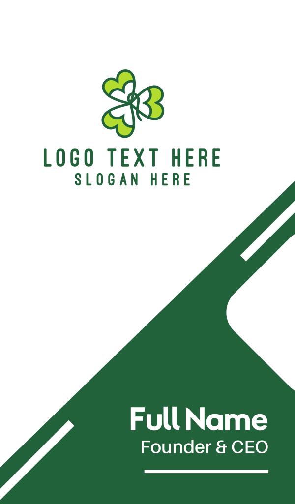 Irish Shamrock Business Card