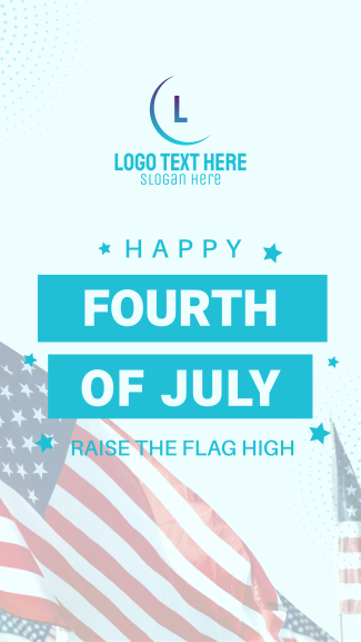 Have A  Happy 4th Of July Facebook story