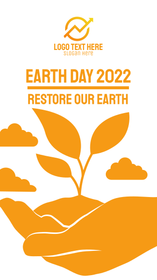 Earth Day Facebook story