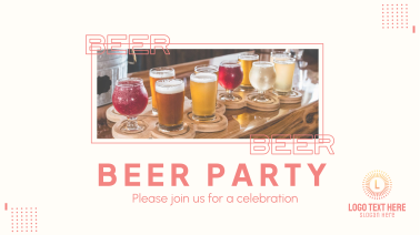 Beer Party Facebook event cover