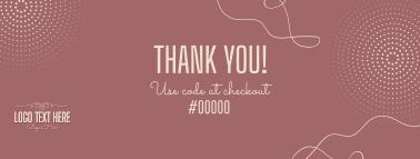 Thank You Voucher Code Facebook cover