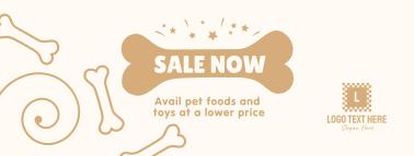 Pet Shop Sale Facebook cover