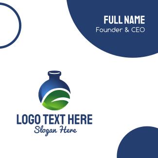 Organic Laboratory Business Card