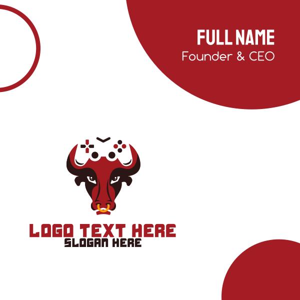 Gaming Bull Business Card