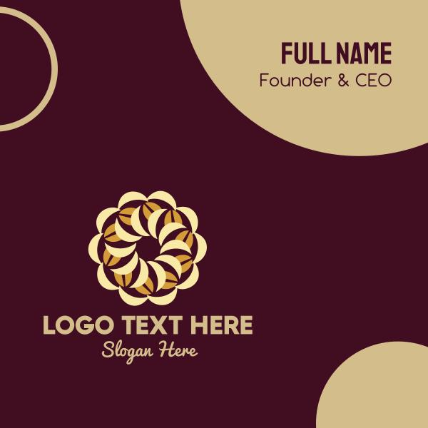 Coffee Bean Pie Business Card