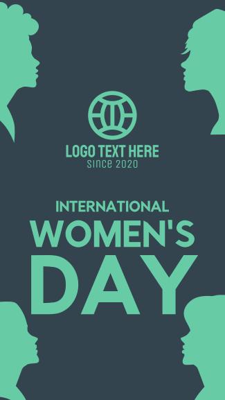 International Women's Day Facebook story