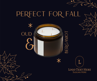 Fall Scented Candle Facebook post