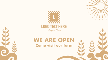 Farm Welcome Page Facebook event cover