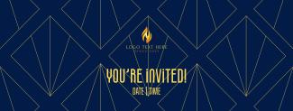 Vintage Invitation Facebook cover