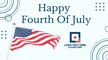 Happy Fourth of July Facebook event cover