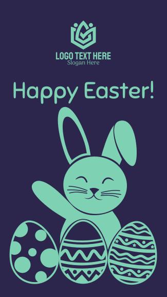 Easter Facebook story