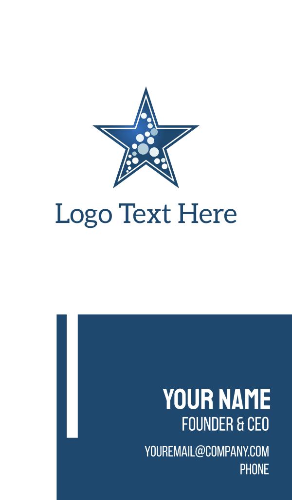 Star & Dots Business Card