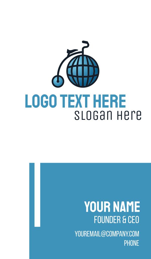 Global High Wheel Business Card