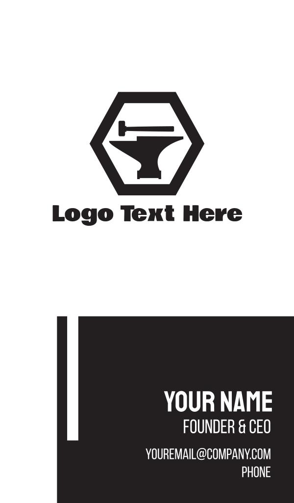Anvil & Hammer Business Card