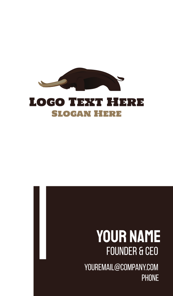 Strong Bison Business Card