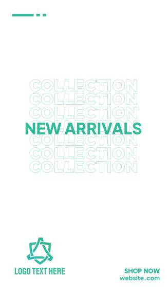 New Arrivals Facebook story
