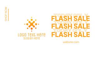 Flash Sale Shop Facebook event cover