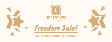Freedom Sale Facebook cover
